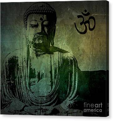 Buddha Canvas Print by Michael Grubb