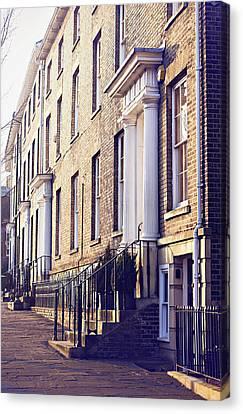 Bury St Edmunds Buildings Canvas Print