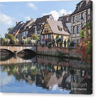 Canals Of Colmar Canvas Print
