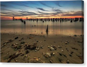 Canvas Print featuring the photograph Cape Charles by Kevin Blackburn