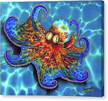 Caribbean Octopus Canvas Print by Daniel Jean-Baptiste