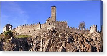 Castelgrande - Bellinzona Canvas Print by Joana Kruse