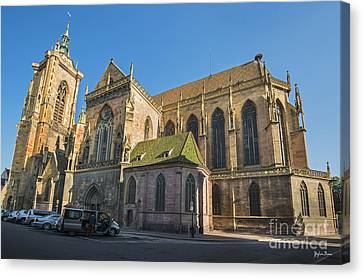 Cathedral Of Saint Martin In Colmar Canvas Print