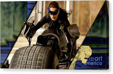 Catwoman Collection Canvas Print
