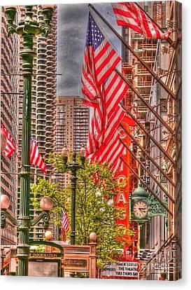 Celebrating Independence Canvas Print by David Bearden