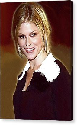 Celebrity Julie Bowen  Canvas Print by Best Actors