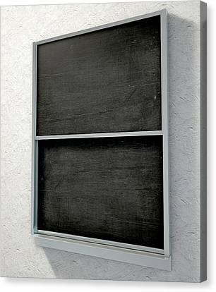 Chalk Board Render Canvas Print