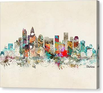 Charlotte North Carolina Canvas Print by Bri B