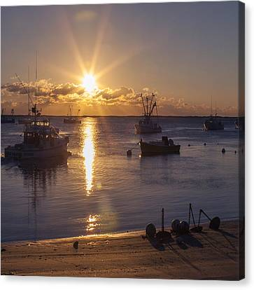 Chatham Canvas Print - Chatham Sunrise by Charles Harden