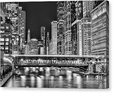 Chicago River Canvas Print - Chicago by Juli Scalzi