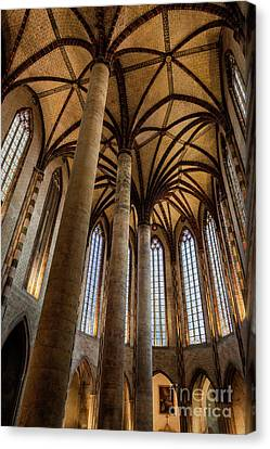 Church Of The Jacobins Interior Canvas Print