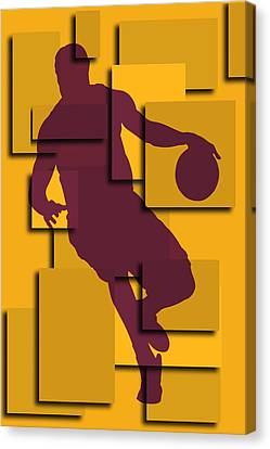 Cleveland Cavaliers Lebron James Canvas Print