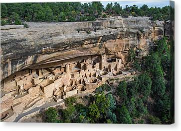Cliff Palace Canvas Print by Joseph Smith