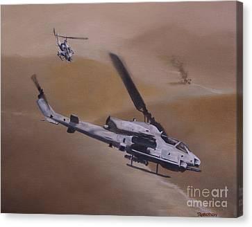 Close Air Support Canvas Print