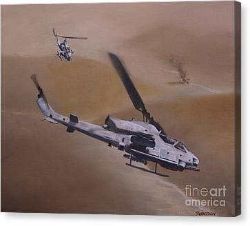 Close Air Support Canvas Print by Stephen Roberson