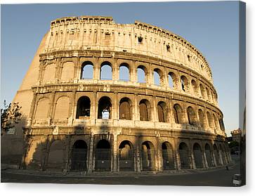 Coliseum. Rome Canvas Print