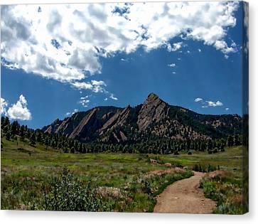Colorado Landscape Canvas Print by Anthony Dezenzio