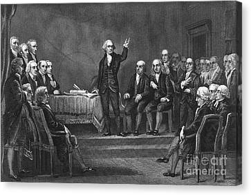 Constitutional Convention Canvas Print by Granger