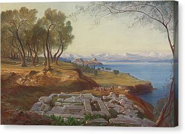 Corfu From Ascension Canvas Print
