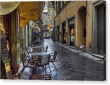 Cortona Tuscany Canvas Print by Al Hurley