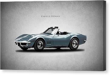 Sting Ray Canvas Print - Corvette Stingray by Mark Rogan