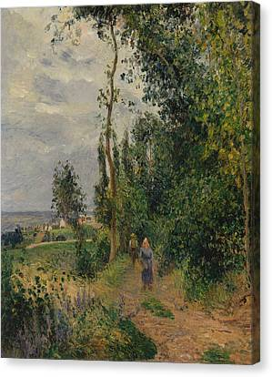 Cote Des Grouettes, Near Pontoise Canvas Print