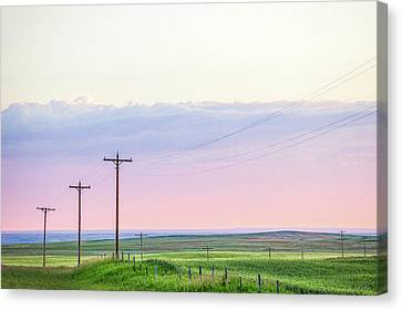Country Road Canvas Print by Todd Klassy