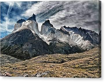 Cuernos Del Paine Canvas Print by Alan Toepfer