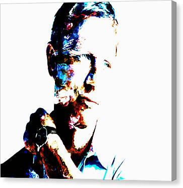 Terrorist Canvas Print - Daniel Craig 007 by Brian Reaves