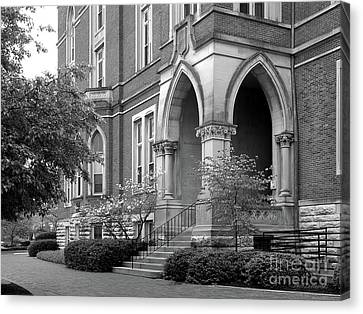 The Tiger Canvas Print - De Pauw University East College by University Icons