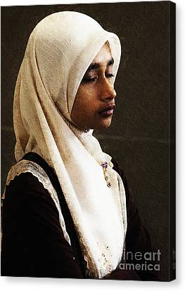 Deep In Thought Canvas Print by Avalon Fine Art Photography