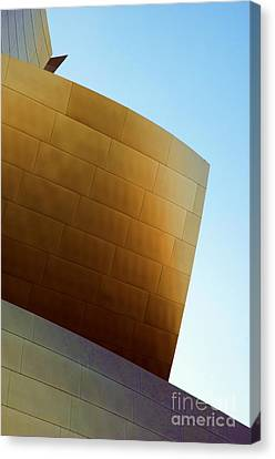 Disney Concert Hall 7 Canvas Print by Micah May