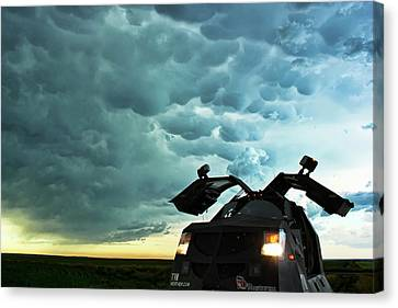 Dominating The Storm Canvas Print