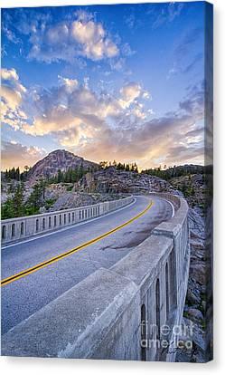 Donner Memorial Bridge Canvas Print