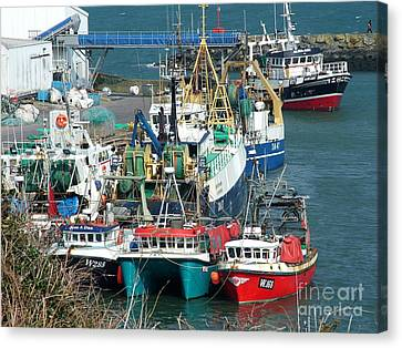 Dunmore East Harbour Canvas Print