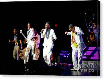 Earth Wind And Fire Canvas Print by April Sims