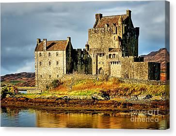 Eilean Donan Castle Canvas Print by Nichola Denny