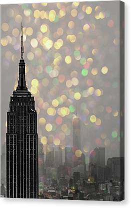 Empire State Canvas Print by Martin Newman
