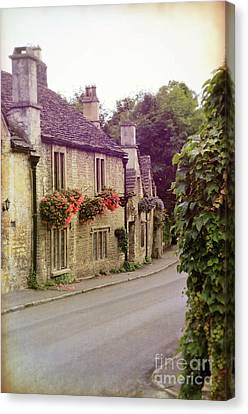 English Village Canvas Print by Jill Battaglia