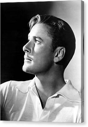 Errol Flynn, 1930s Canvas Print by Everett