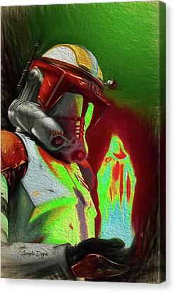 Execute Order 66 - Free Style Canvas Print by Leonardo Digenio