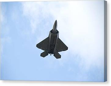 F-22 Raptor Canvas Print by Sebastian Musial