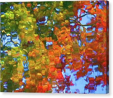Perfect Lake Canvas Print by Lanjee Chee