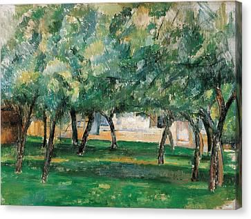 Cezanne Canvas Print - Farm In Normandy  by Paul Cezanne