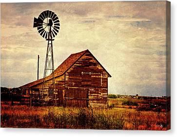 Canon 7d Canvas Print - Farmhouse by Scott Pellegrin