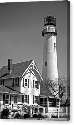 Fenwick Island Lighthouse Canvas Print by Skip Willits