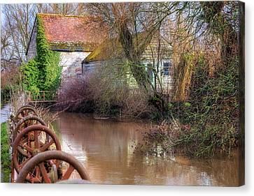 Fiddleford Mill - England Canvas Print by Joana Kruse