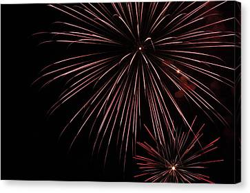 Fireworks Canvas Print by Chuck Bailey
