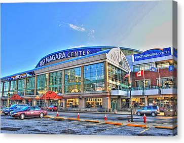 First Niagara Center Canvas Print