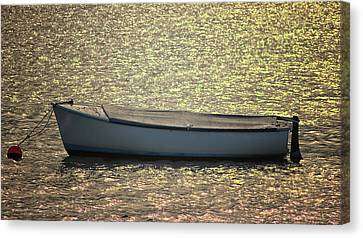 Industrial Background Canvas Print - Fishing Boat by Martin Newman